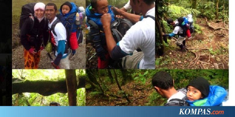 Mendaki Gunung, Mendidik Karakter Anak....