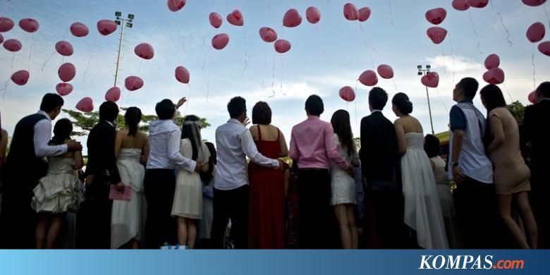 Di Malaysia, 138 Pasangan Menikah Massal pada Hari Valentine