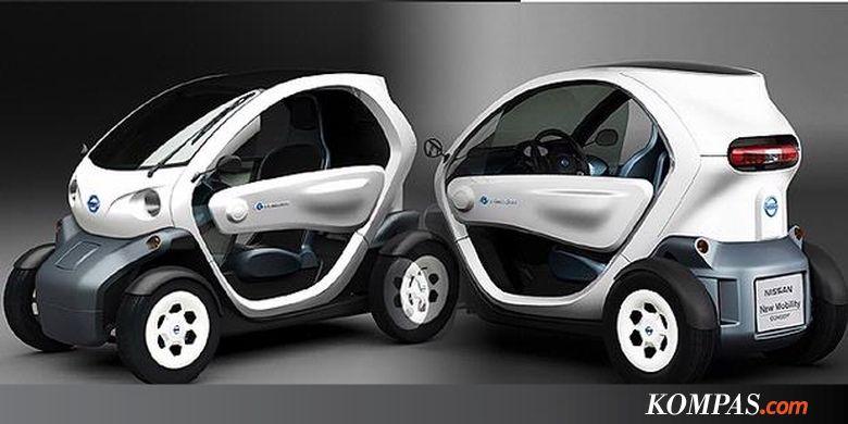 Wow Mobil Listrik Mungil Dari Nissan
