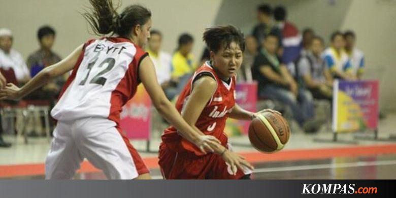 Kalahkan Mesir, Timnas Basket Putri Indonesia Pimpin Klasemen  Kompas.com