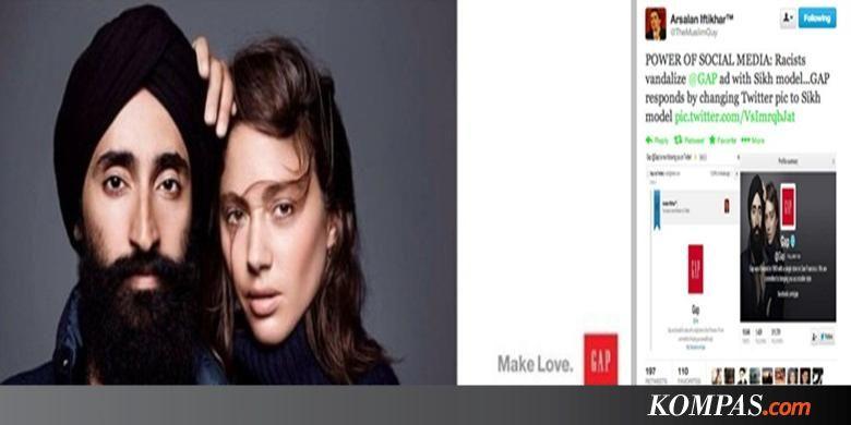 Umat sikh dan muslim memuji iklan terbaru ritel gap kompas publicscrutiny Choice Image