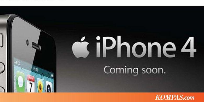 iPhone 4 Hadir Mulai 17 Desember - Kompas.com df074b8658