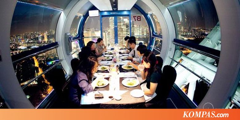 private singapore flyer sky dining capsule - 780×390