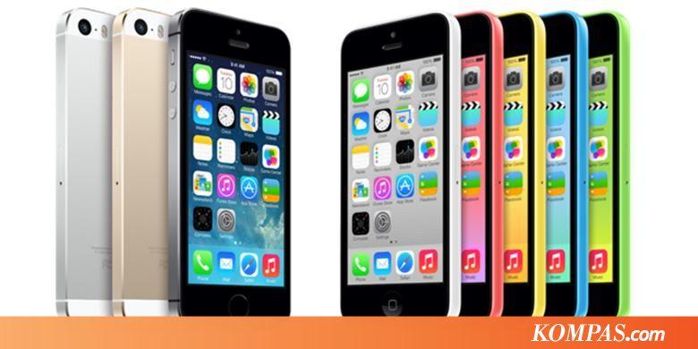 Penjualan iPhone 5S dan 5C Catat Rekor - Kompas.com 3c1bf554b1