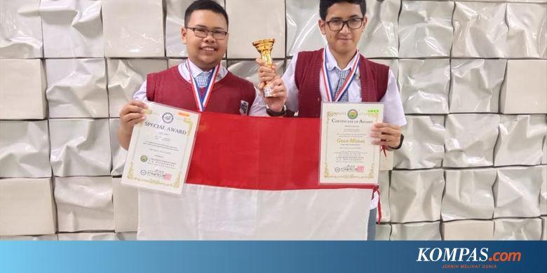 Berkat Baterai dari Ampas Kopi, 2 Siswa SMA di Bandung Raih Medali Emas di Korea Halaman all - KOMPAS.com