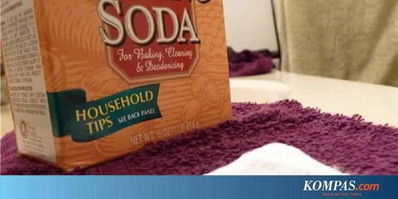 Baking Soda Membersihkan Paling Bersih!