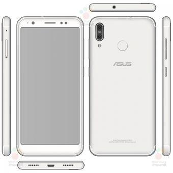Bocoran gambar smartphone yang disinyalir merupakan Asus Zenfone 5 Max