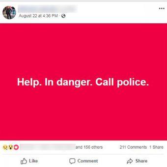 Posting yang diunggah oleh Miket Lythcott di Facebook setelah mengalami kecelakaan di Bali.