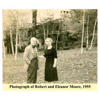 Robert Moore dan istrinya Eleanor