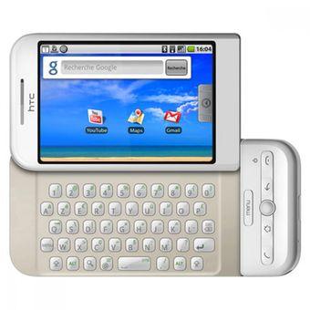 Ponsel HTC Dream dengan OS Android versi 1.0.