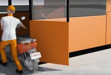 Ini Motor yang Tidak Bisa Diangkut Motobus
