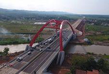 Jembatan Merah Kalikuto, Ikon Tol Trans-Jawa Itu Sempurna Terbangun