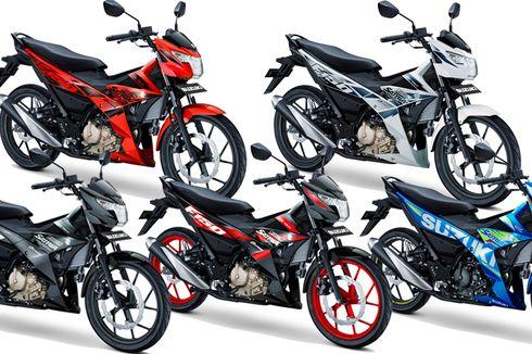 Suzuki Satria Paling Banyak Diekspor