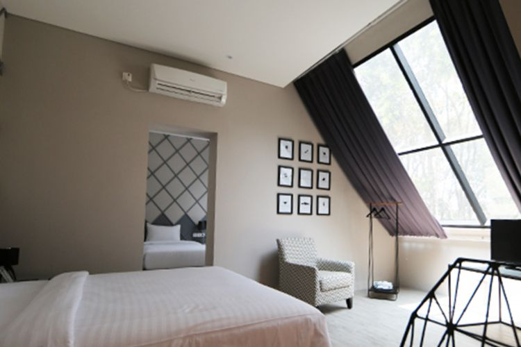 Beehive Boutique Hotel Bandung, kamar tema lily of the nile.