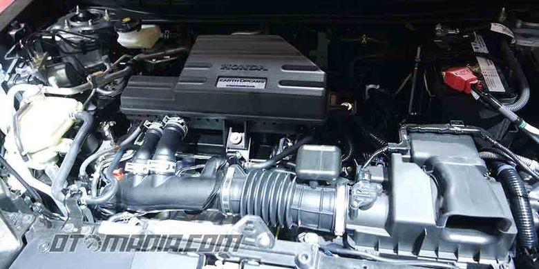 Honda All-New CR-V menggunakan mesin 1.5L Turbo bertenaga 190 PS dan torsi 240 Nm.