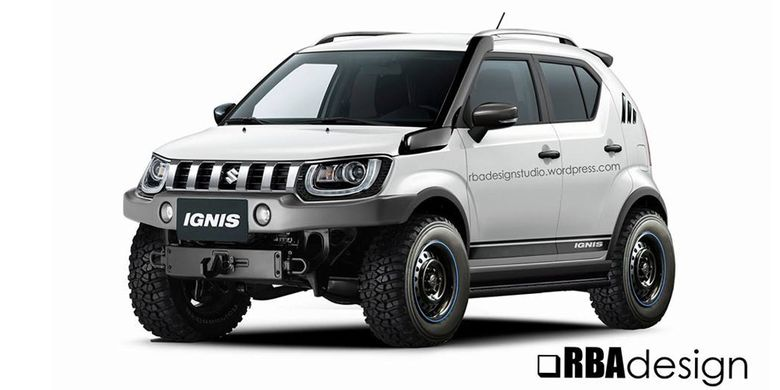 Modifikasi digital Suzuki Ignis