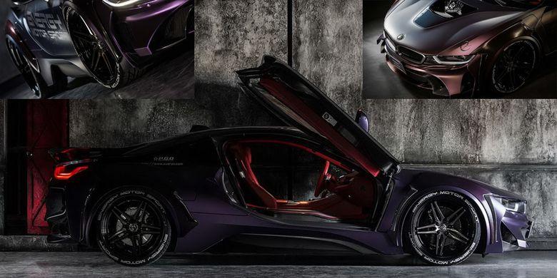 BMW i8 Dark Knight