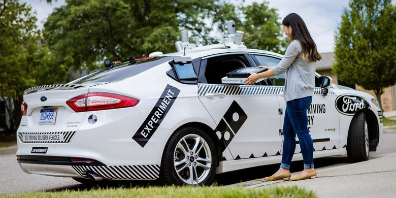 Ford Fusion Hybrid Autonomus Research Vehicle