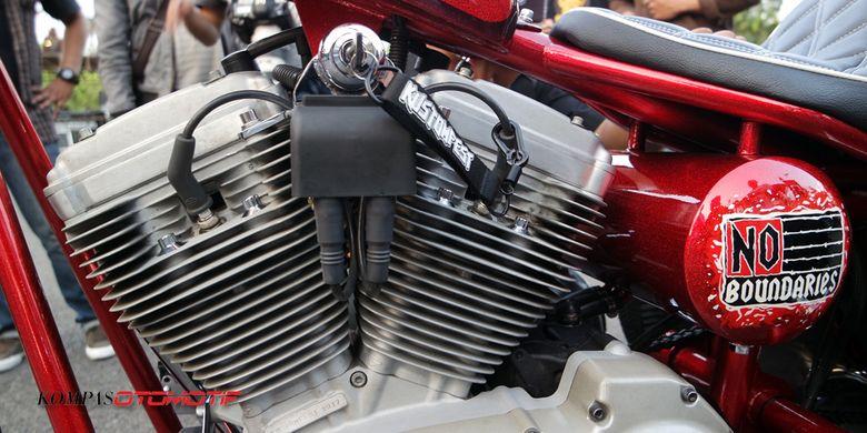 Sepeda motor roda tiga alias trike kustom bernama Ojo Dumeh yang dijadikan hadiah buat pemenang undian tiket Kustomfest 2017. Menggunakan mesin Harley-Davidson Buell 1.200cc