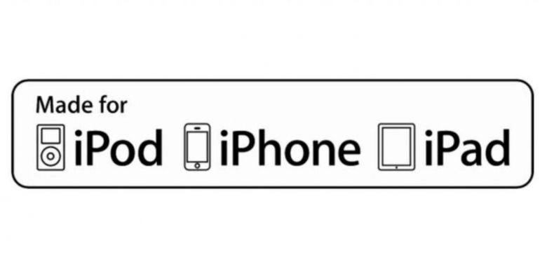 Logo aksesoris produk Apple (MFi) lama