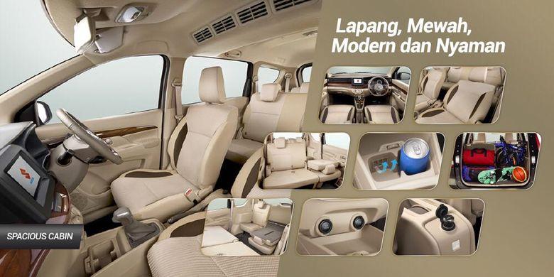 Spesifikasi Ertiga Baru yang bocor di halaman web Suzuki Indonesia