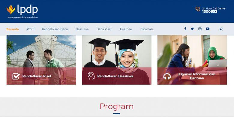 Pendaftaran beasiswa LPDP akan dibuka mulai 7 Mei 2018 dan dapat dilakukan secara daring.