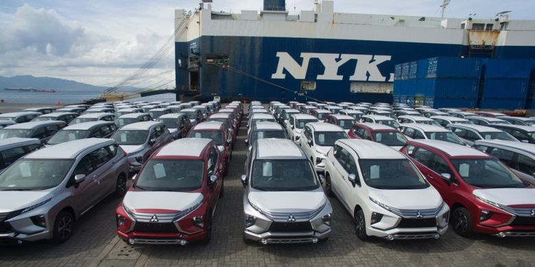 Mitsubishi Motors Phillipines Corporation (MMPC) resmi mengumumkan kedatangan Xpander di Bauan International Port, Inc, Batangas, Filipina, Selasa (22/5/2018).