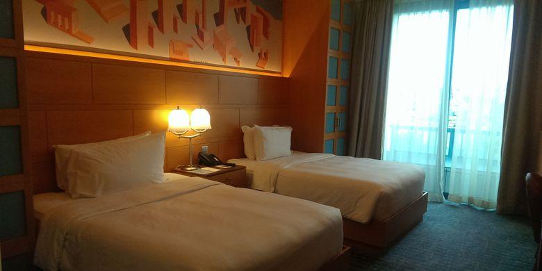 Hotel Michael, salah satu hotel di Resort World Sentosa Singapore. Hotel ini bisa menjadi pilihan anda untuk liburan keluarga.