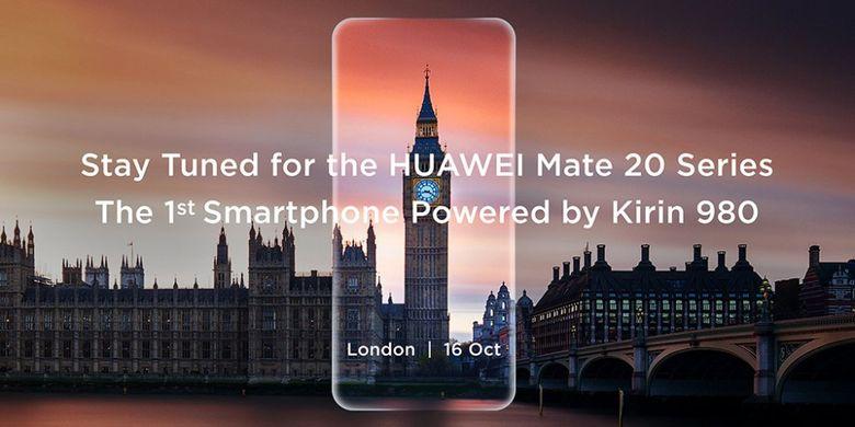 Huawei Mate 20 Meluncur 16 Oktober di London