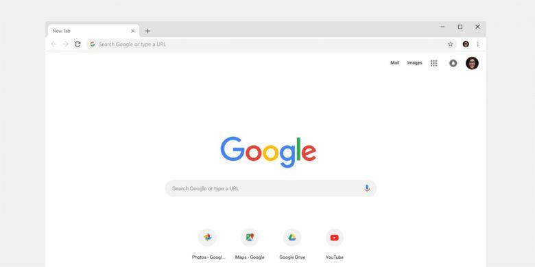 Tampilan baru Google Chrome di versi 69