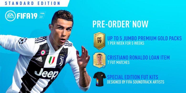 Gim FIFA 19 akan dirilis pada 28 September 2018.