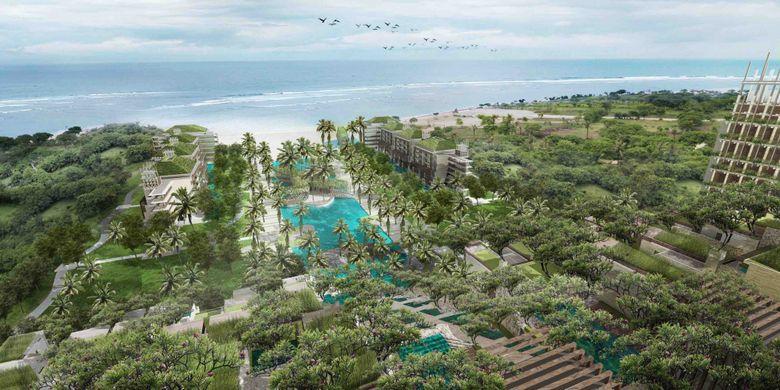 The Apurva Kempinski Bali, hotel berbintang 5 di Sawangan, Nusa Dua, Bali yang akan hadir pada kuartal pertama tahun 2019.