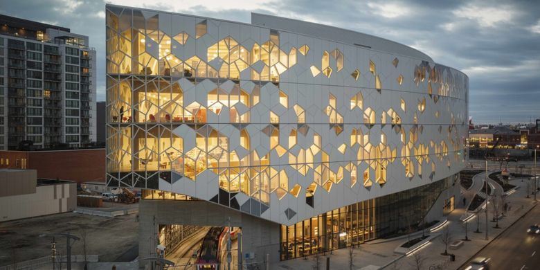 Lima Perpustakaan Dengan Desain Futuristik Halaman All Kompas Com