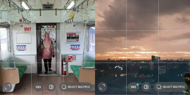 Ilustrasi Grid di Aplikasi Edit Foto
