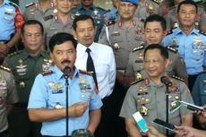 Panglima TNI Ajak Kapolri Jaga Soliditas melalui