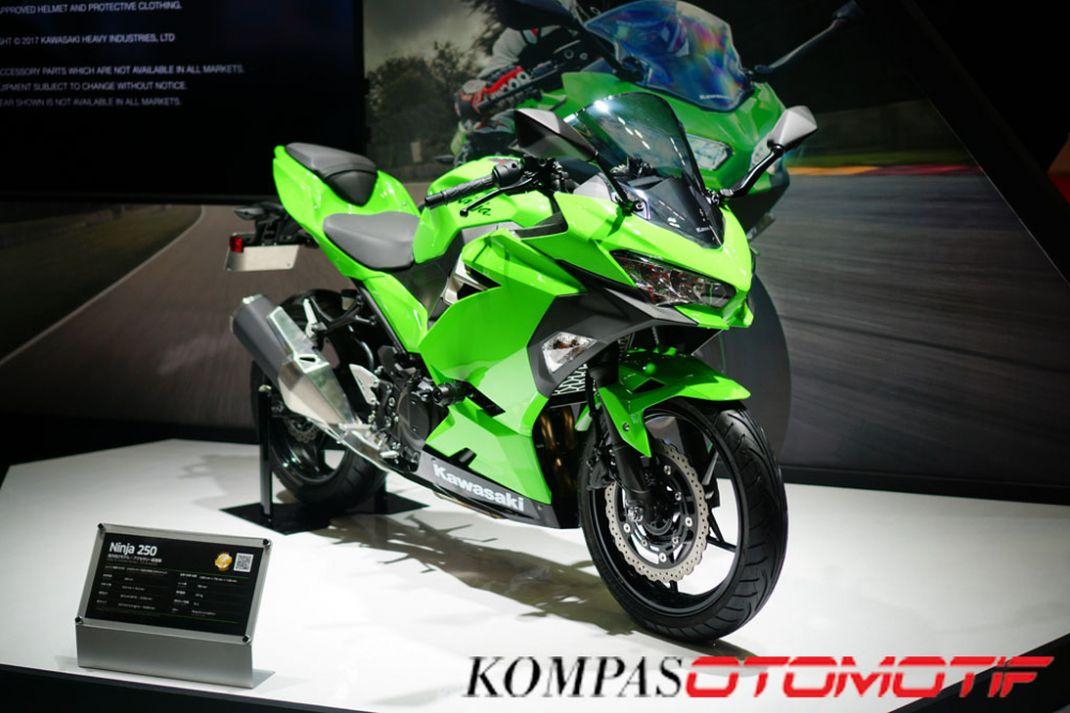 Kawasaki menghadirkan pembaruan dari Ninja 250 pada ajang Tokyo Motor Show 2017.