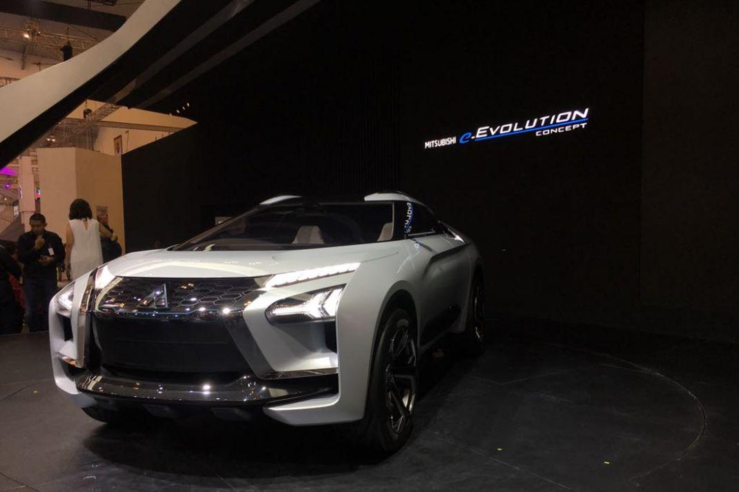 Mitsubishi e-Evolution Concept di Gaikindo Indonesia International Auto Show ( GIIAS) 2018