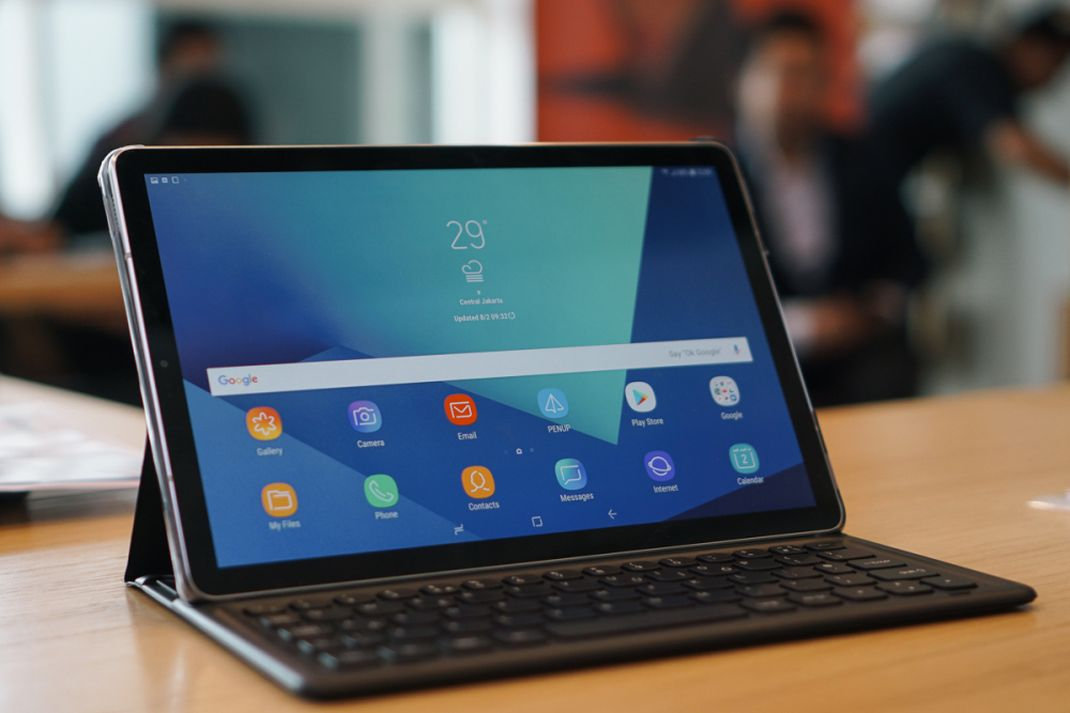 tekno galaxy tab s4 hands on 2
