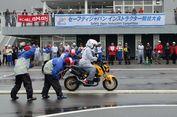 Skutik Belum Masuk Kompetisi Instruktur 'Safety Riding' Honda
