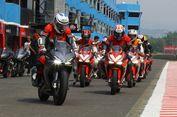 Ratusan Biker Honda Meriahkan CBR Raceday di Sirkuit Sentul