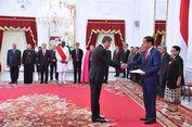 9 Dubes Serahkan Surat Kepercayaan kepada Jokowi