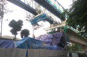 Hingga Januari Ini, Konstruksi LRT Jakarta Capai 56,94 Persen