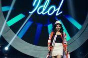 JK Tampil Seksi Saat Nyanyikan 'Fana Merah Jambu' di Indonesian Idol