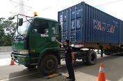 Kelebihan Muatan, Puluhan Truk Ditilang di Jagorawi