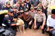 Bahagianya Andro, Anjing K-9 Pelacak 1 Ton Sabu Terima Medali dari Sri Mulyani