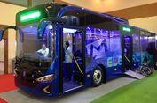 Bus Listrik Karya Anak Bangsa Pamer di GIICOMVEC 2018