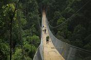 Indonesia Miliki Jembatan Gantung Terpanjang di Sukabumi