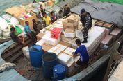 Koarmabar Tangkap Tiga Kapal Bermuatan Barang Ilegal di Perairan Batam