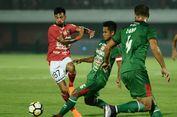 Hasil Liga 1, Gol Lilipaly Bawa Bali United Kalahkan PSMS Medan