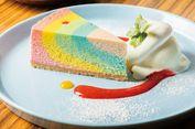 """Rainbow Cheesecake """"Instagenic"""" dari Amagasaki Jepang"""